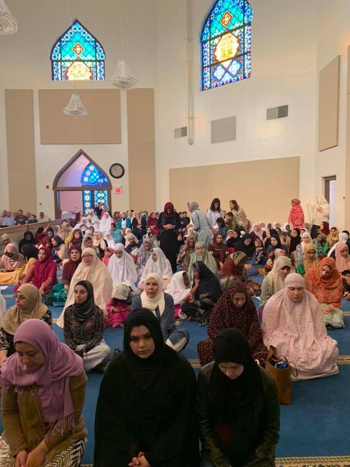 eid, prayer hall
