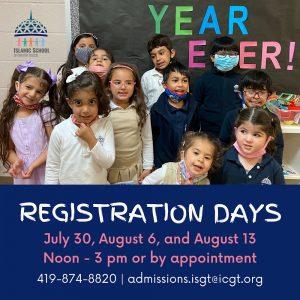 ISGT - Registration Days 2021